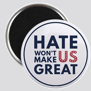Hate Won't Make US Great Magnets