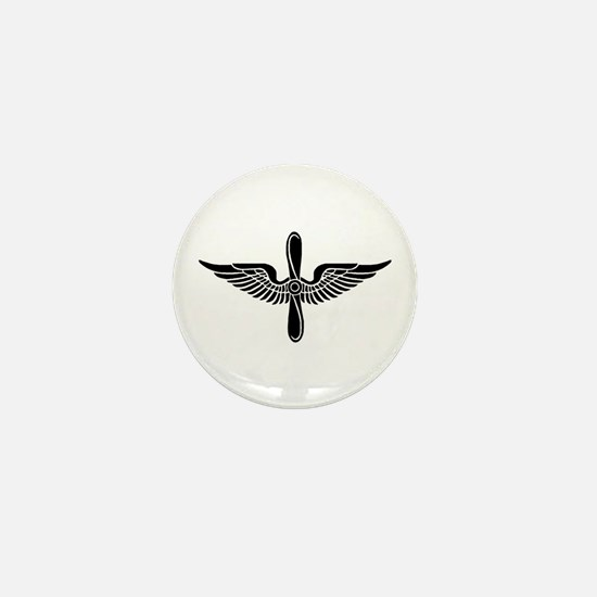 Aviation Branch (1) Mini Button