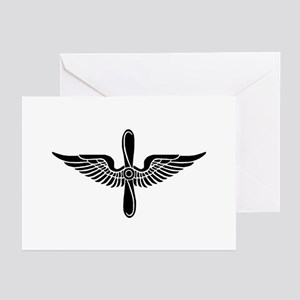 Aviation Branch (1) Greeting Cards (Pk of 10)