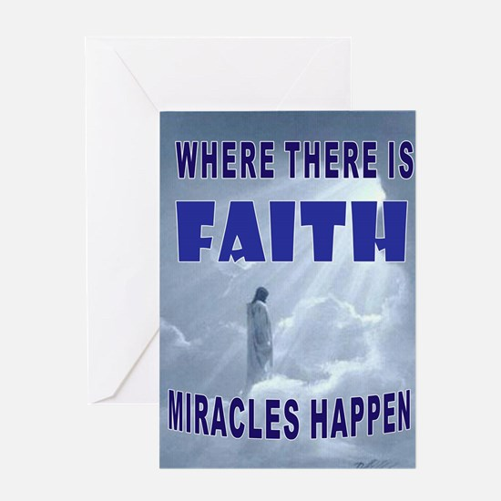 FAITH Greeting Cards