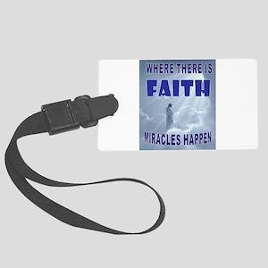 FAITH Luggage Tag