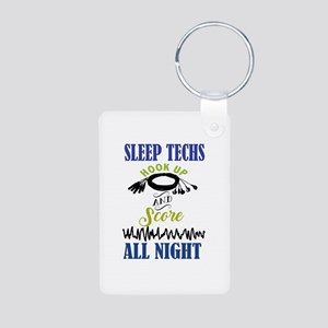 Sleep Techs Hook Up And Score All Night Keychains