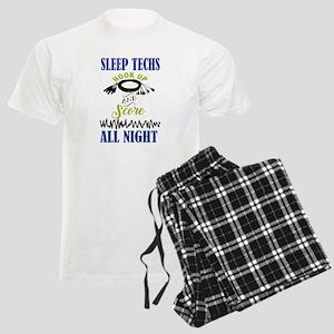 Sleep Techs Hook Up And Score All Night Pajamas