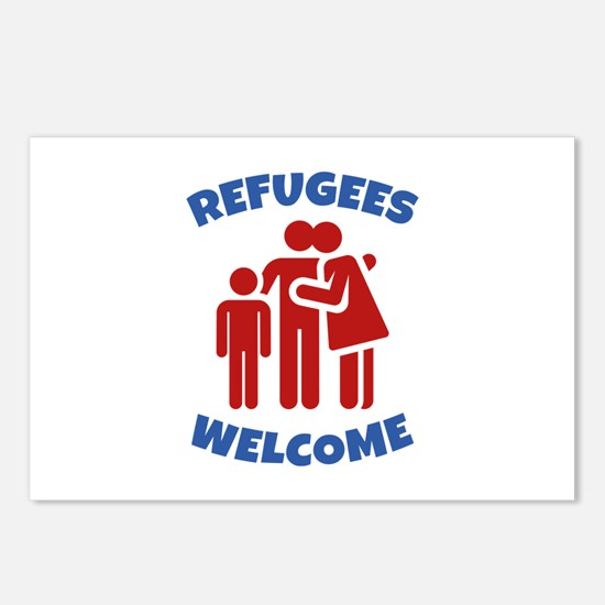 Refugees Welcome Postcards (Package of 8)