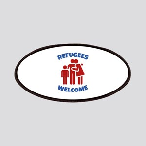 Refugees Welcome Patches