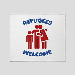 Refugees Welcome Stadium Blanket