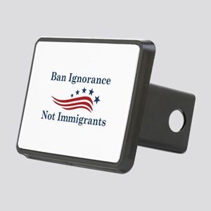 Ban Ignorance Rectangular Hitch Cover