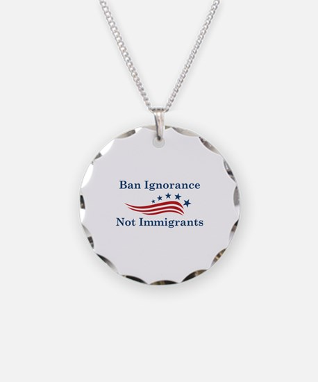 Ban Ignorance Necklace