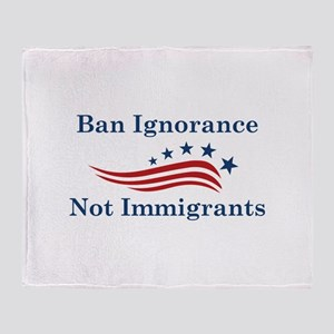 Ban Ignorance Stadium Blanket