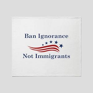Ban Ignorance Stadium Blanket