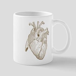Vintage Heart Mugs