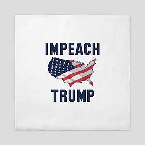Impeach Trump Queen Duvet