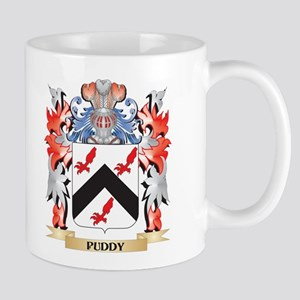 Puddy Coat of Arms - Family Crest Mugs