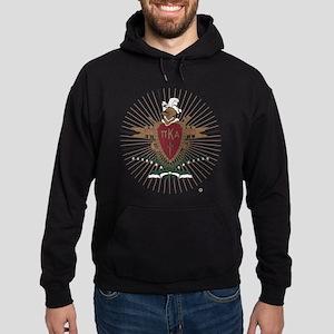 Pi Kappa Alpha Crest Hoodie (dark)