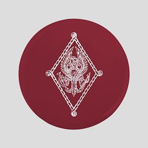 Pi Beta Phi Crest Button
