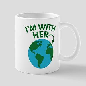 I'm With Her Mug