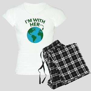 I'm With Her Women's Light Pajamas