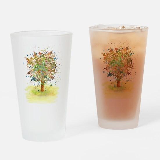Landscape 466 Tree Drinking Glass