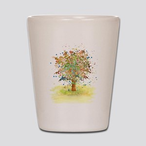 Landscape 466 Tree Shot Glass