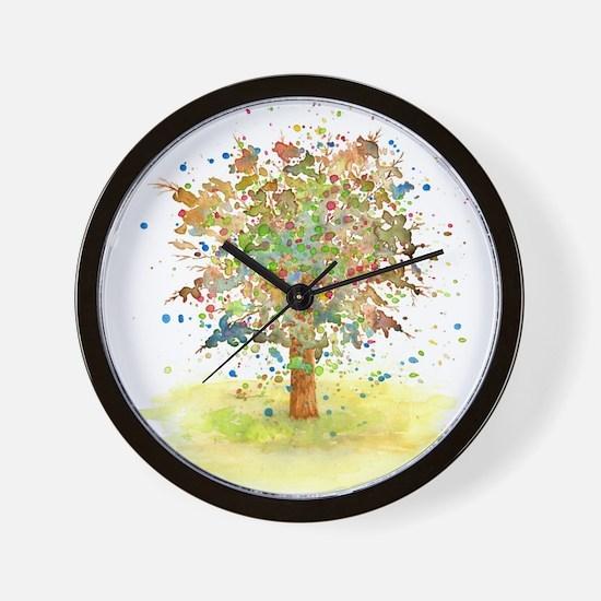 Landscape 466 Tree Wall Clock