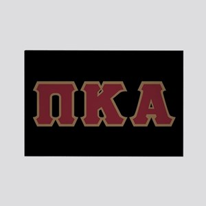 Pi Kappa Alpha Letters Rectangle Magnet