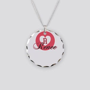 renee Necklace Circle Charm