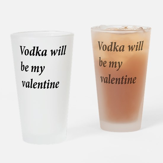 Funny Vodka lover Drinking Glass