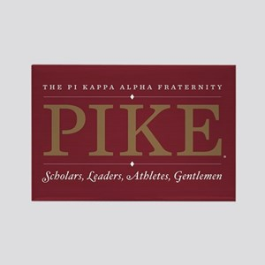 Pi Kappa Alpha Fraternity Pike Rectangle Magnet