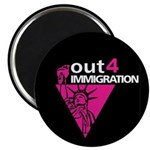 "Out4Immigration 2.25"" Magnet"