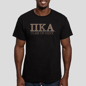 Pi Kappa Alpha Class o Men's Fitted T-Shirt (dark)