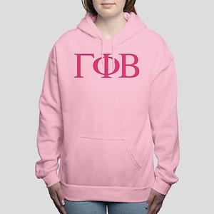 Gamma Phi Beta Letters Women's Hooded Sweatshirt