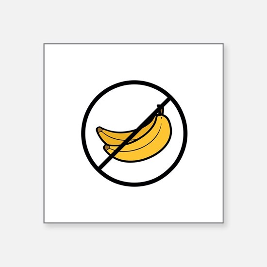 no bananas Sticker
