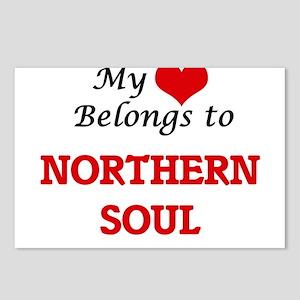 My heart belongs to North Postcards (Package of 8)