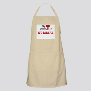 My heart belongs to Nu Metal Apron