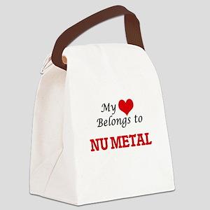 My heart belongs to Nu Metal Canvas Lunch Bag