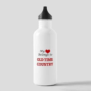My heart belongs to Ol Stainless Water Bottle 1.0L