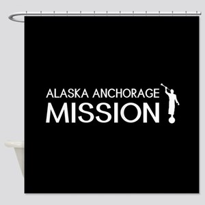 Alaska, Anchorage Mission (Moroni) Shower Curtain