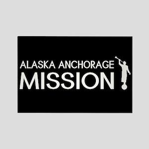 Alaska, Anchorage Mission (Moroni Rectangle Magnet