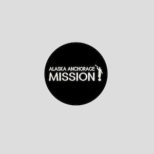 Alaska, Anchorage Mission (Moroni) Mini Button