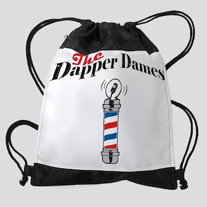The Dapper Dames - Small Logo Drawstring Bag
