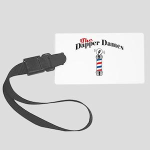 The Dapper Dames - Small Logo Luggage Tag
