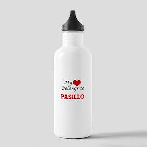 My heart belongs to Pa Stainless Water Bottle 1.0L
