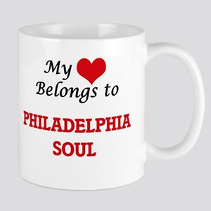 My heart belongs to Philadelphia Soul Mugs