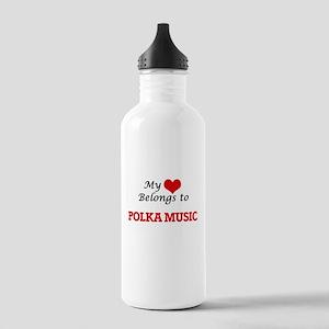 My heart belongs to Po Stainless Water Bottle 1.0L