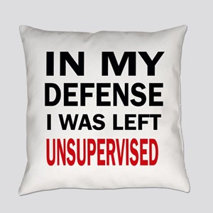 LEFT UNSUPERVISED Everyday Pillow