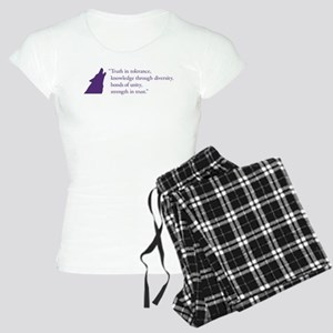 Gamma Rho Lambda Wolf Women's Light Pajamas