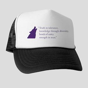 Gamma Rho Lambda Wolf Trucker Hat