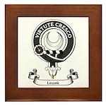 Badge - Leask Framed Tile