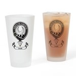 Badge - Leask Drinking Glass