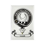 Badge - Leask Rectangle Magnet